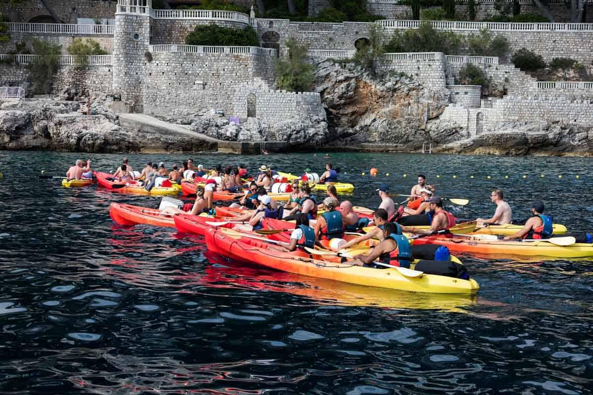top tourist attractions in dubrovnik croatia sea kayaking