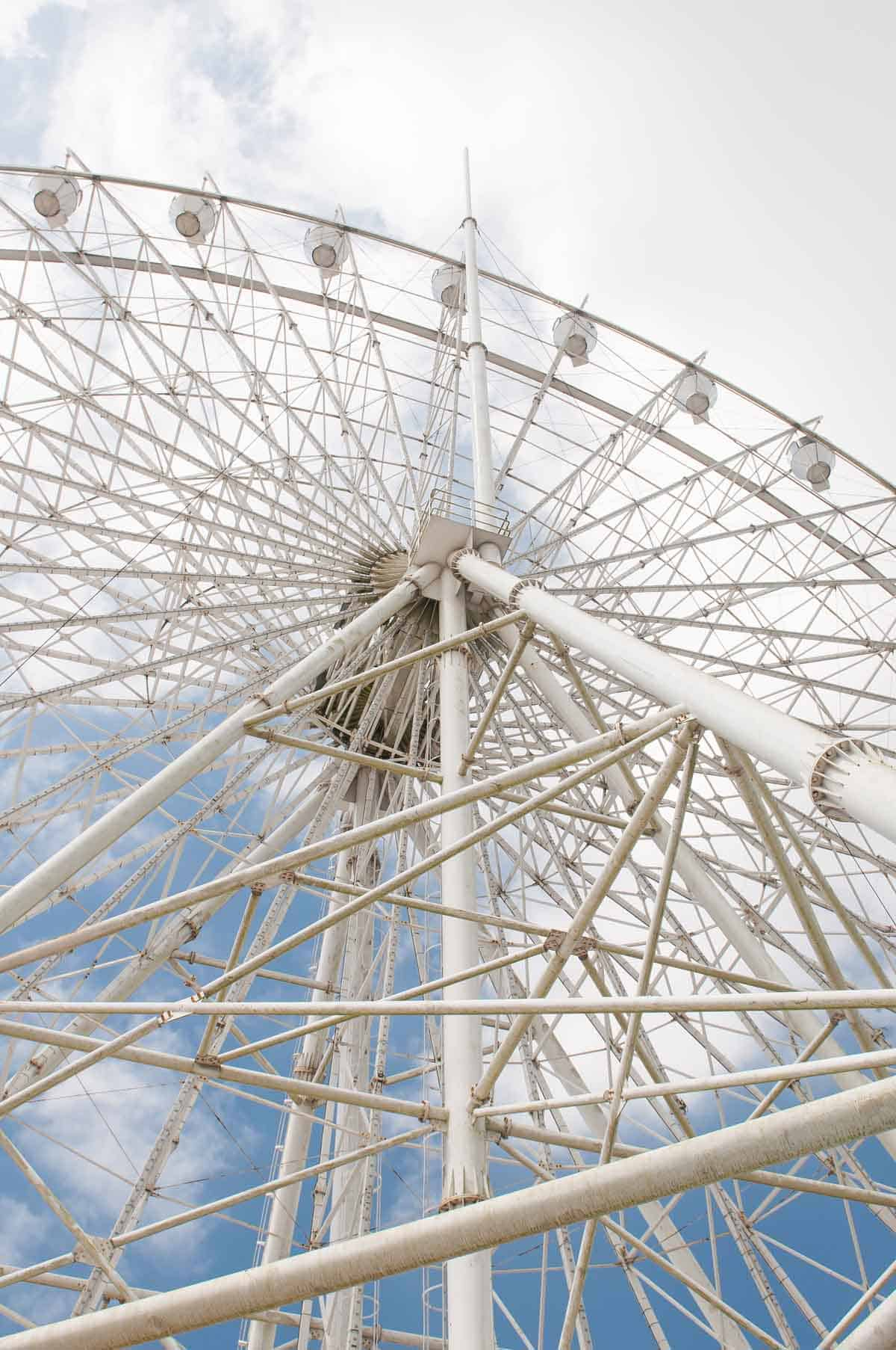 top tourist attractions in tagaytay the philippines sky ranch sky eye ferris wheel