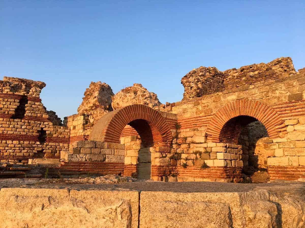 unesco world heritage sites in europe ancient city of nessebar bulgaria