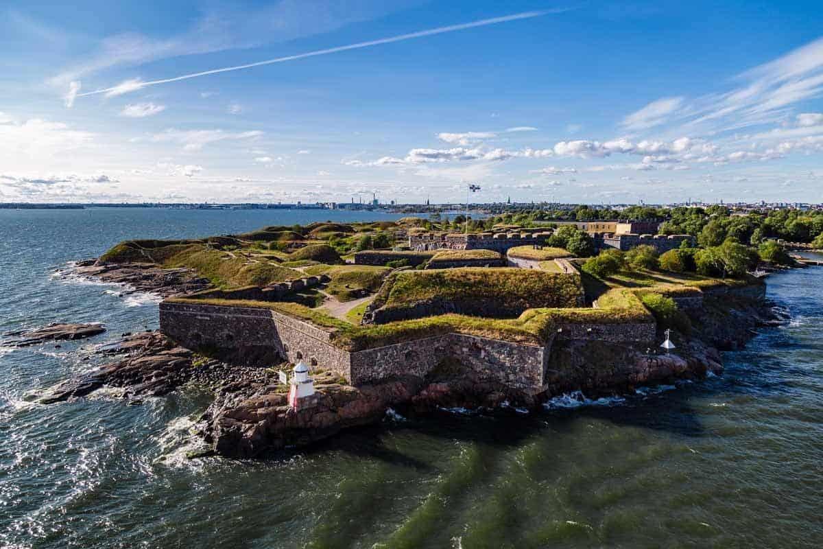 unesco world heritage sites in europe fortress of suomenlinna helsinki finland