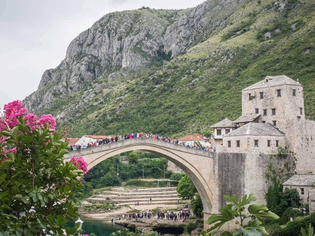 unesco world heritage sites in europe old bridge mostar bosnia and herzegovina