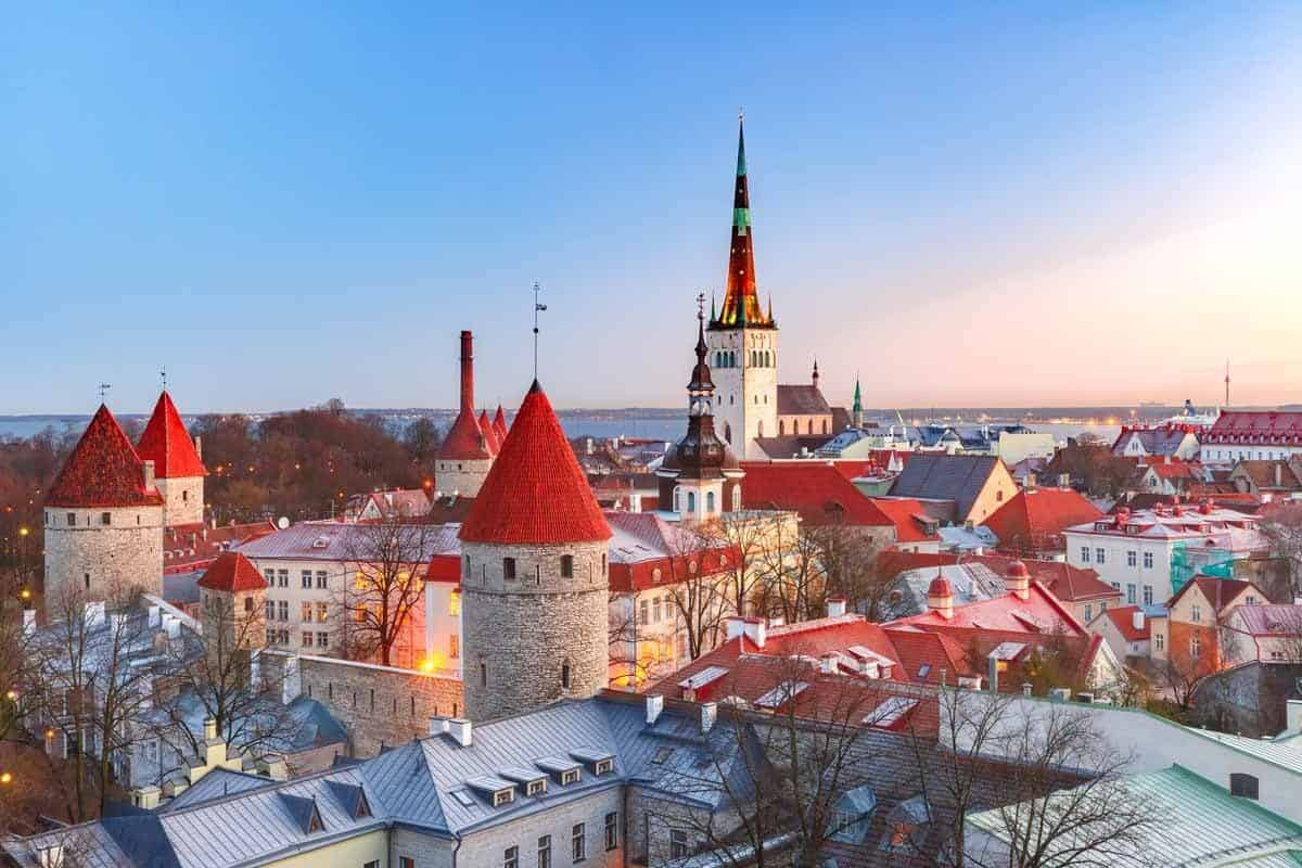 unesco world heritage sites in europe old town of tallinn estonia