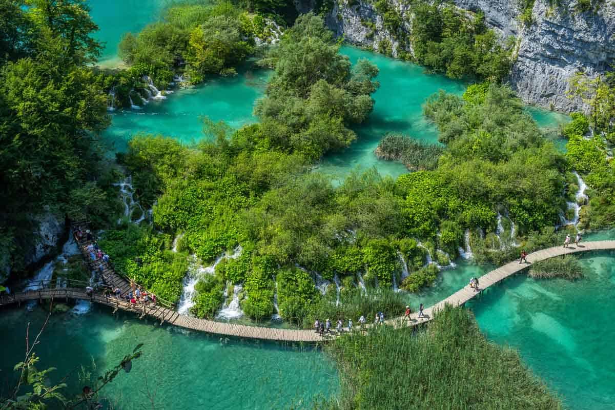 unesco world heritage sites in europe plitvice lakes national park croatia