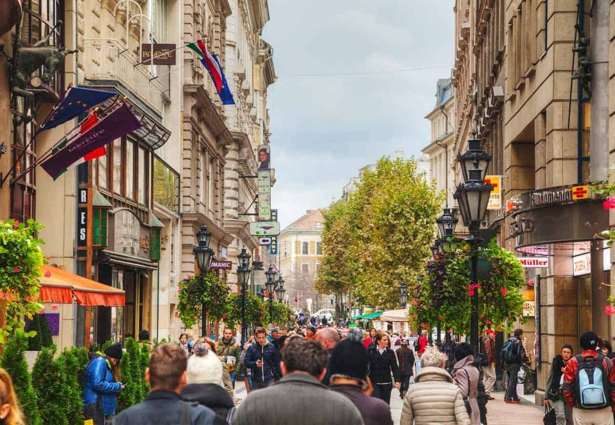 best places to go shopping in europe budapest hungary