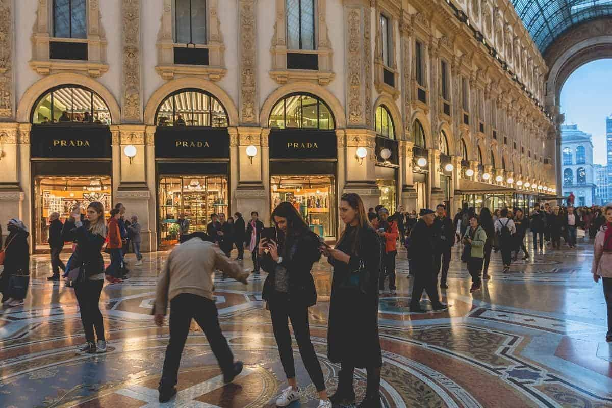 best places to go shopping in europe milan italy
