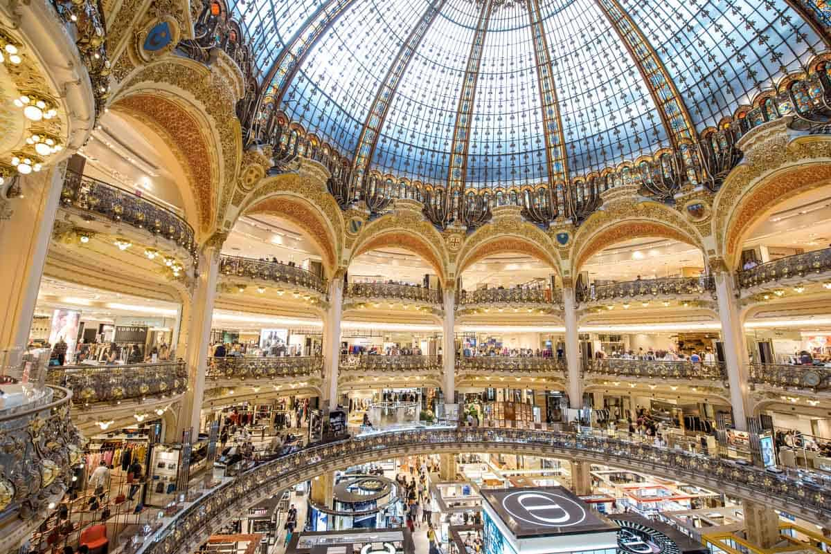 best places to go shopping in europe paris france