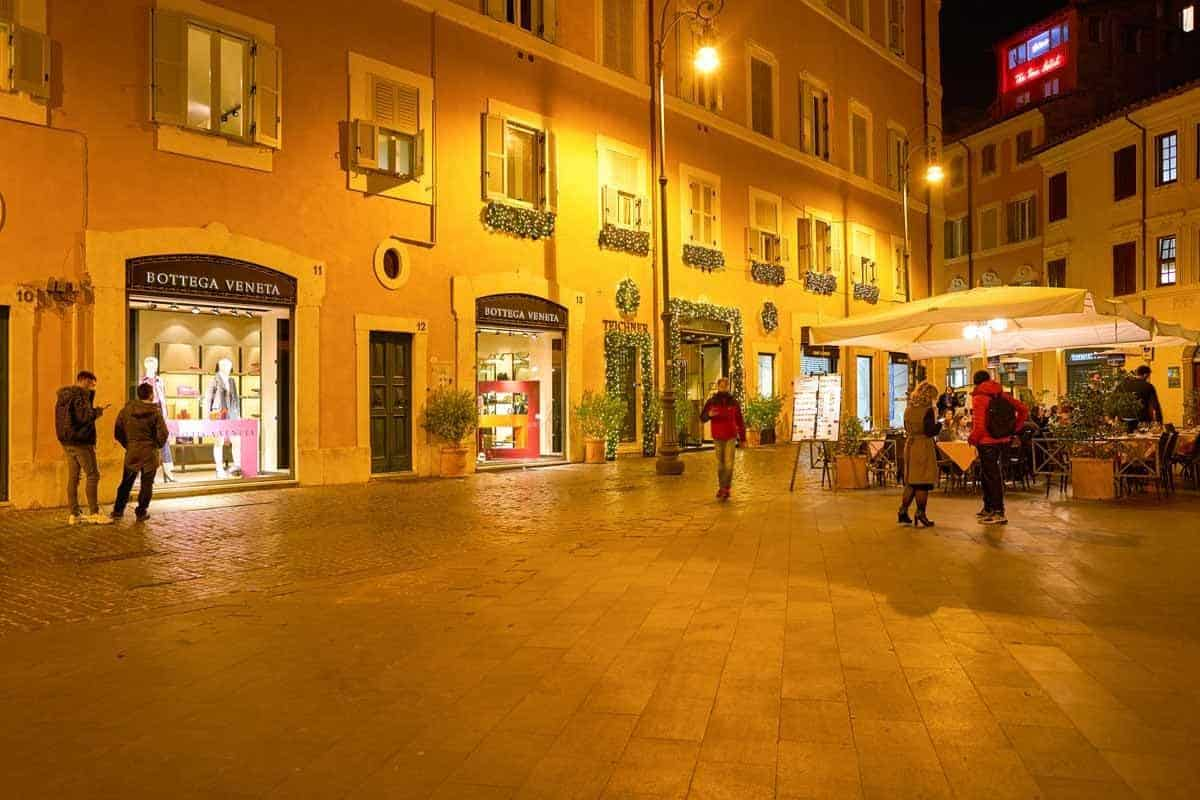 best places to go shopping in europe rome italy