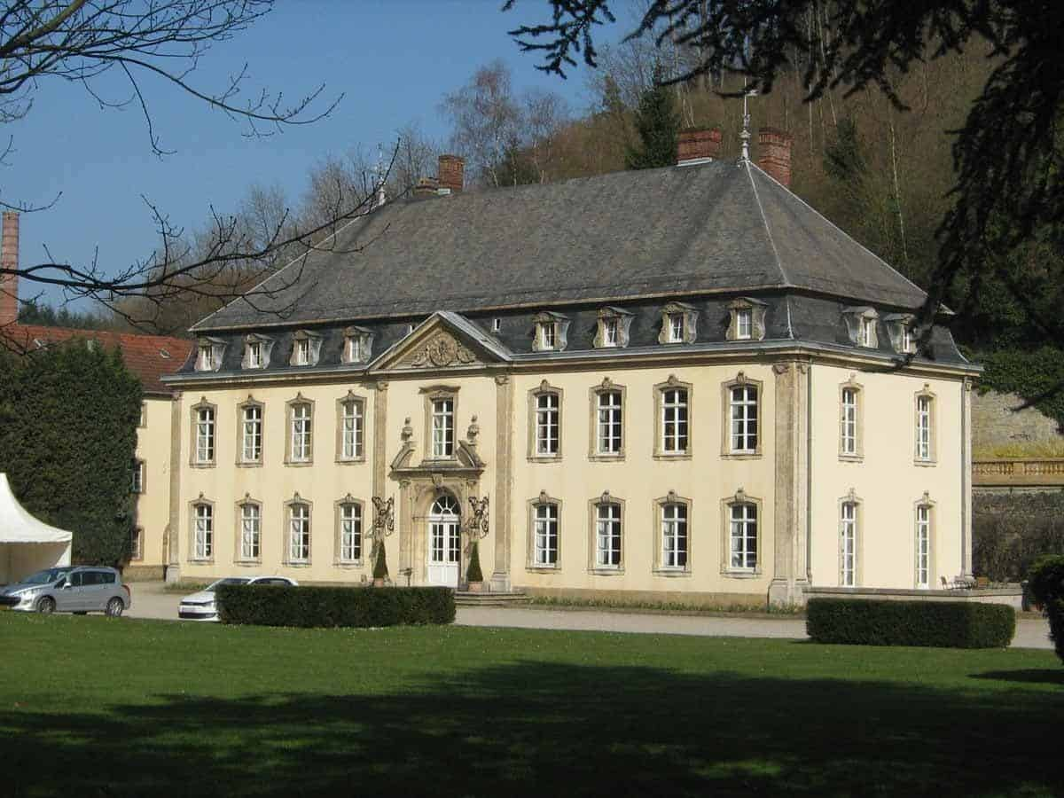 castles in luxembourg chateau de septfontaines