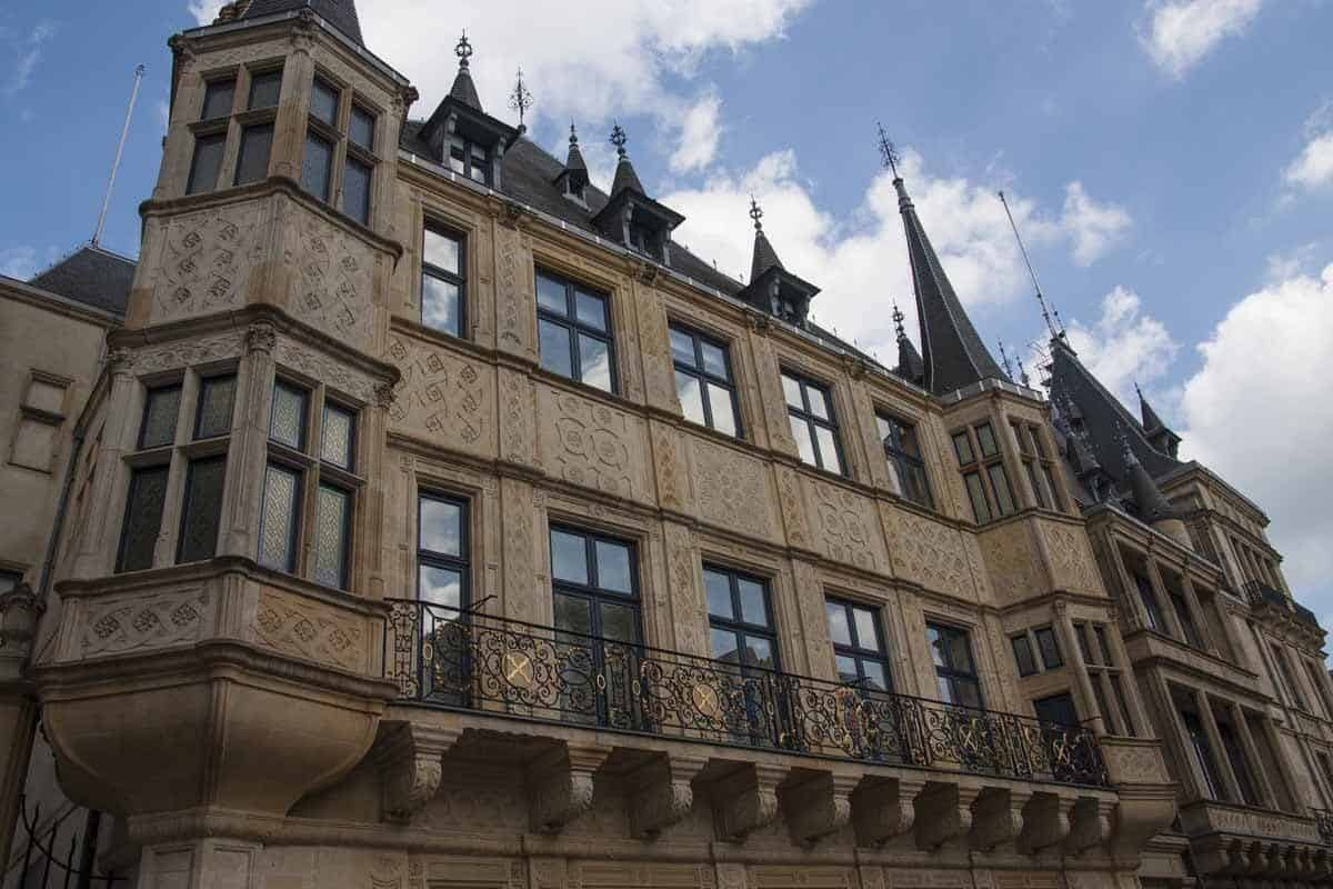 castles in luxembourg grand ducal palace