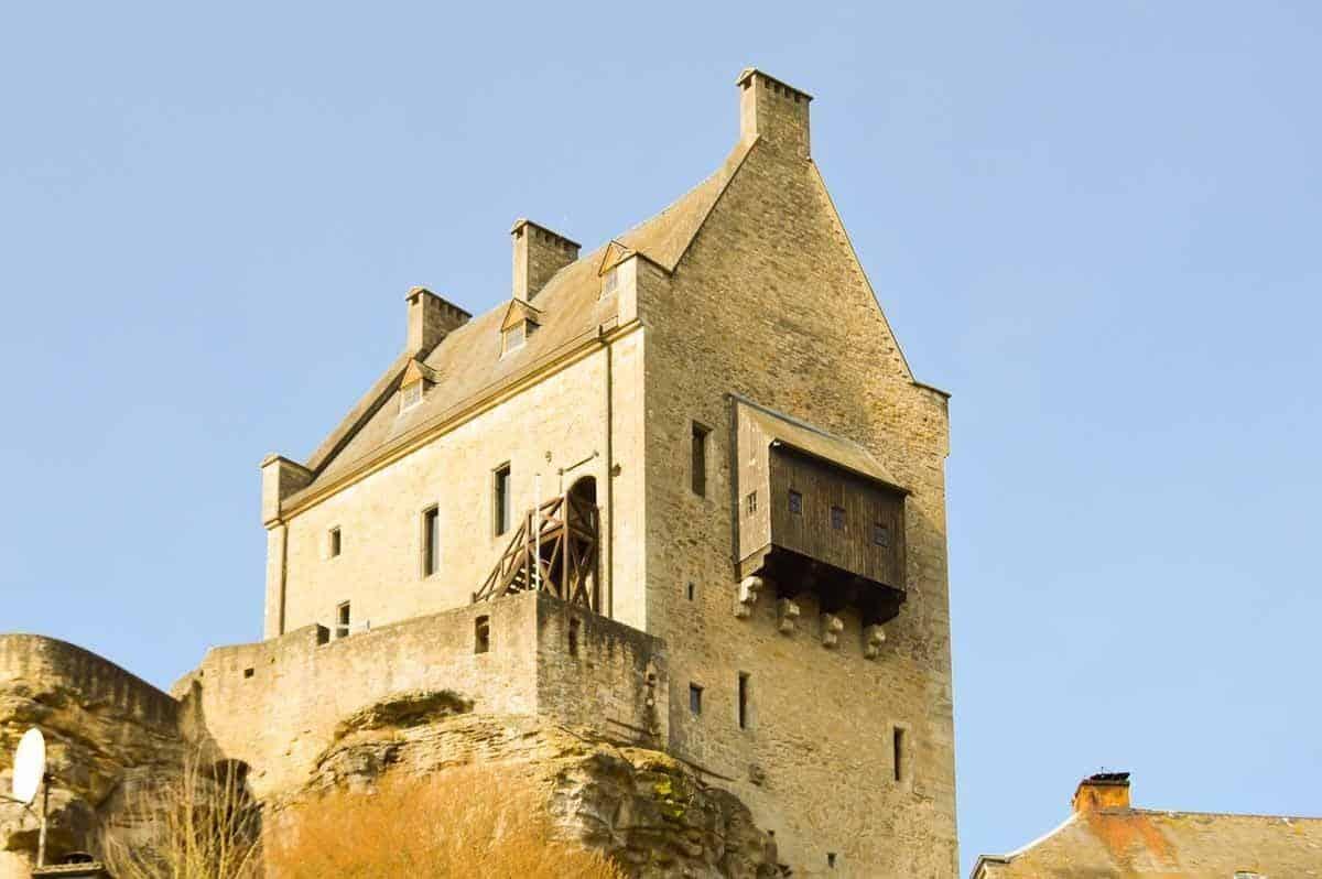 castles in luxembourg larochette castle