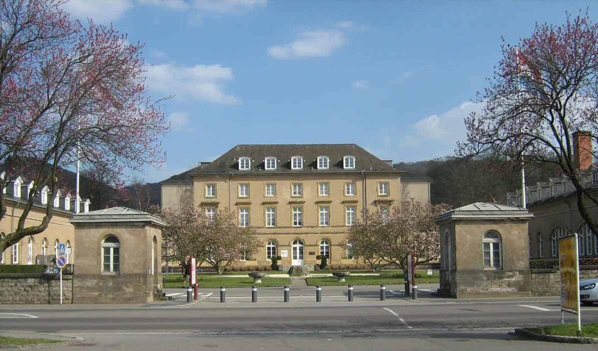 castles in luxembourg walferdange castle