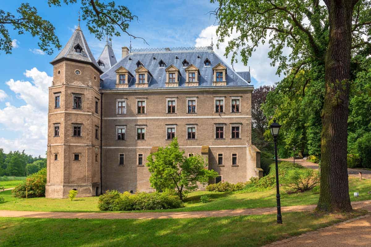 castles in poland goluchow castle