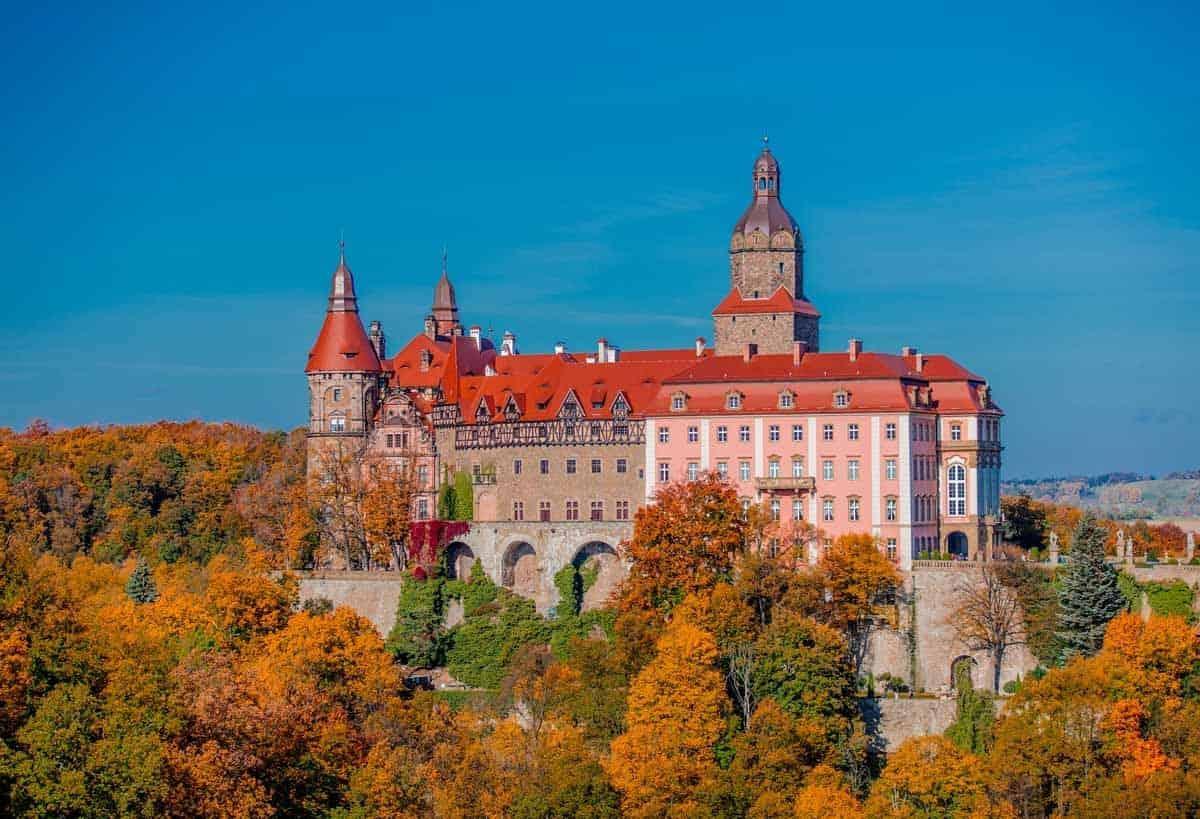 castles in poland ksiaz castle