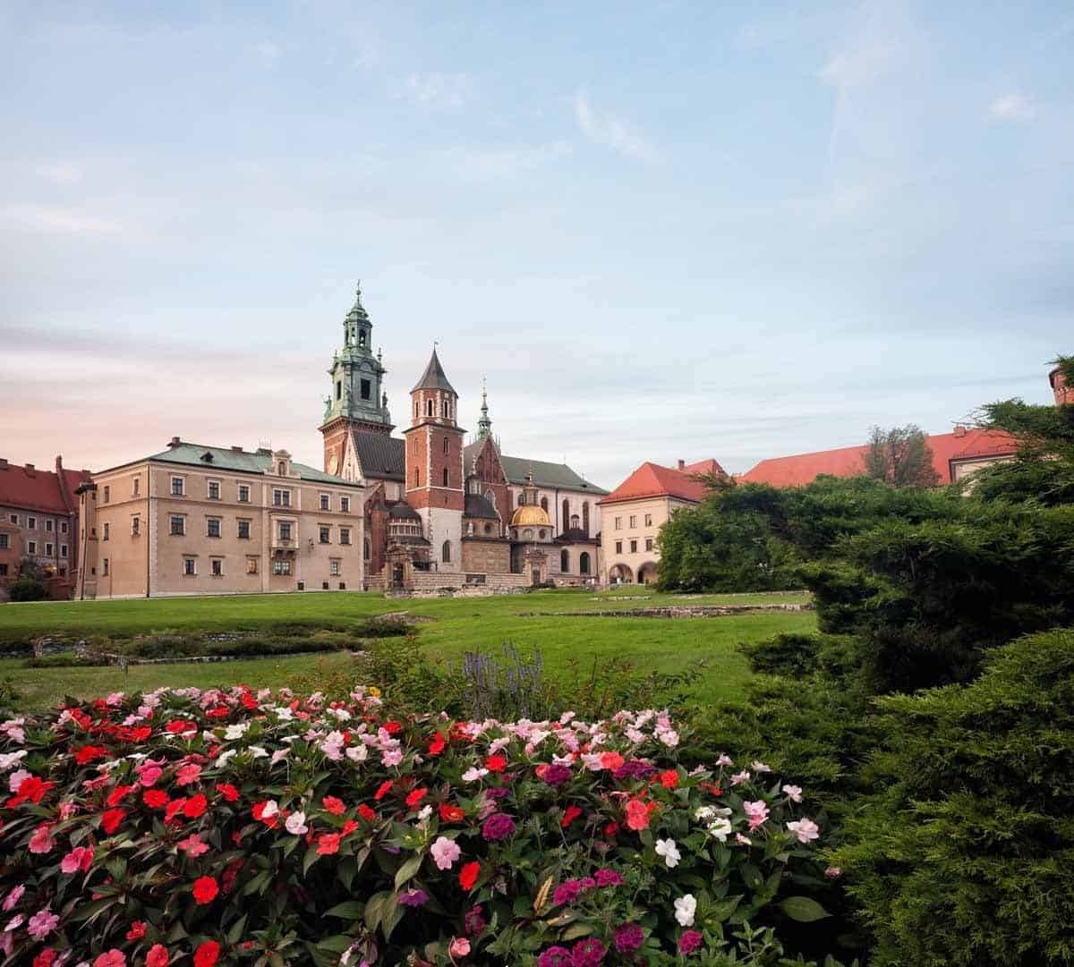 castles in poland wawel royal castle in krakow
