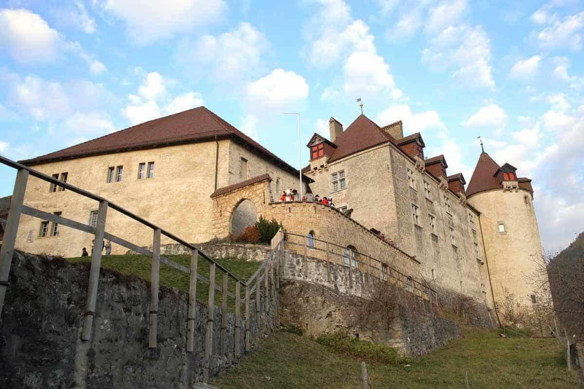 castles in switzerland gruyeres castle