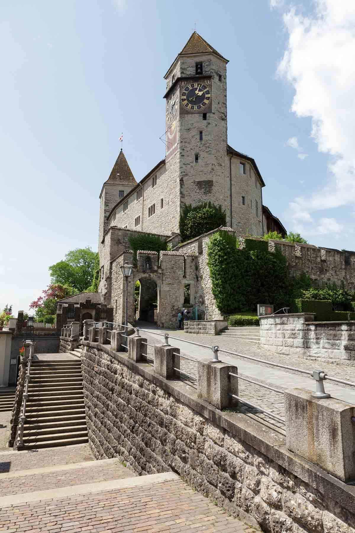 castles in switzerland rapperswil castle