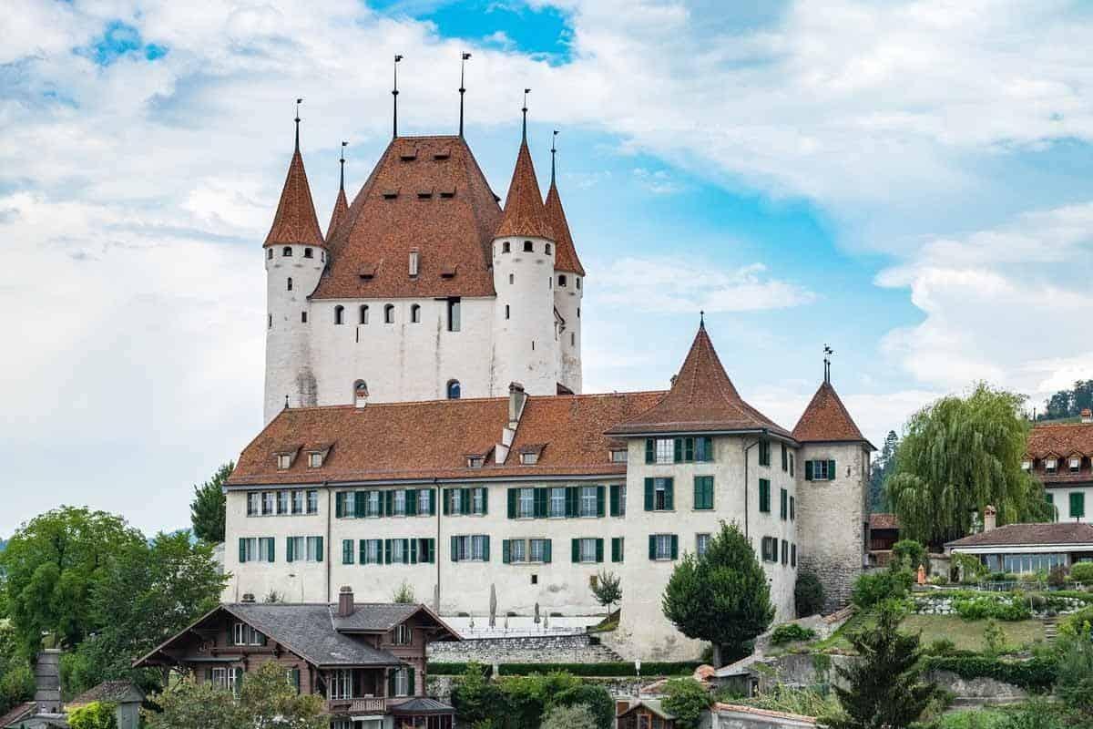 castles in switzerland thun castle