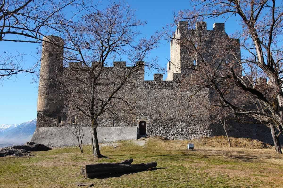 castles in switzerland tourbillon castle