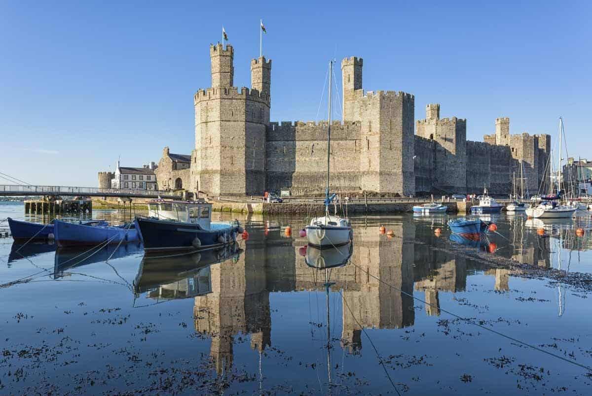 castles in the united kingdom caernarfon castle north west wales