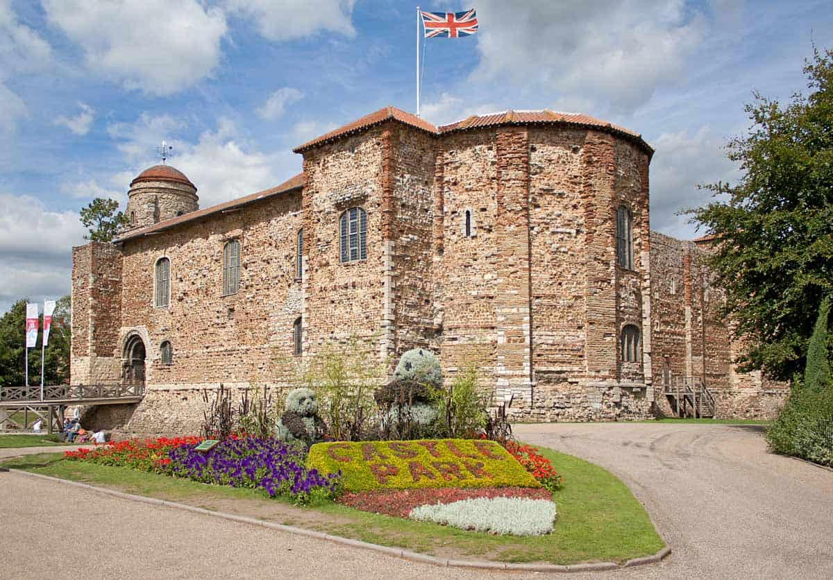 castles in the united kingdom colchester castle