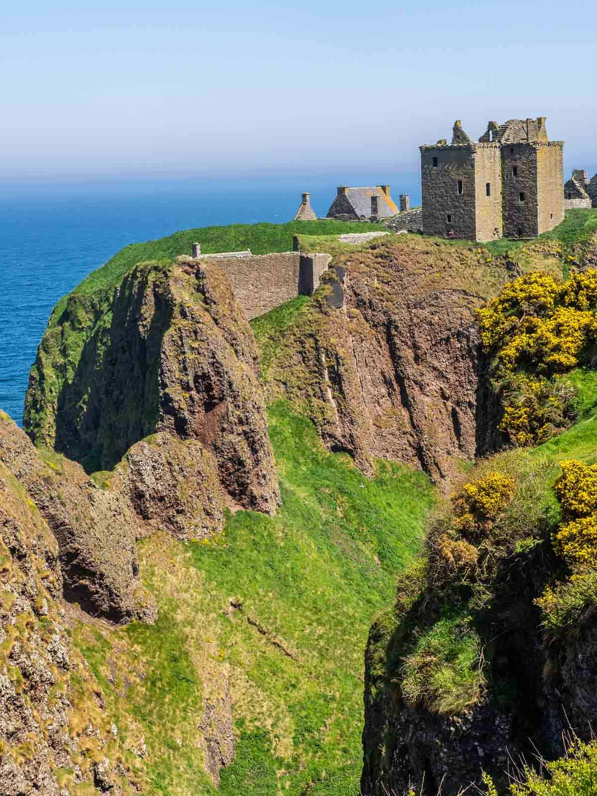 castles in the united kingdom dunnottar castle scotland