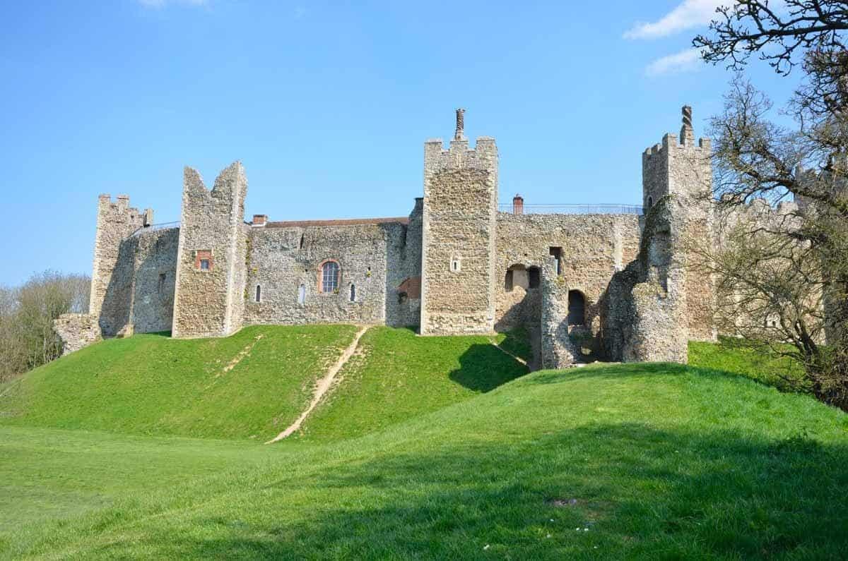 castles in the united kingdom framlingham castle suffolk