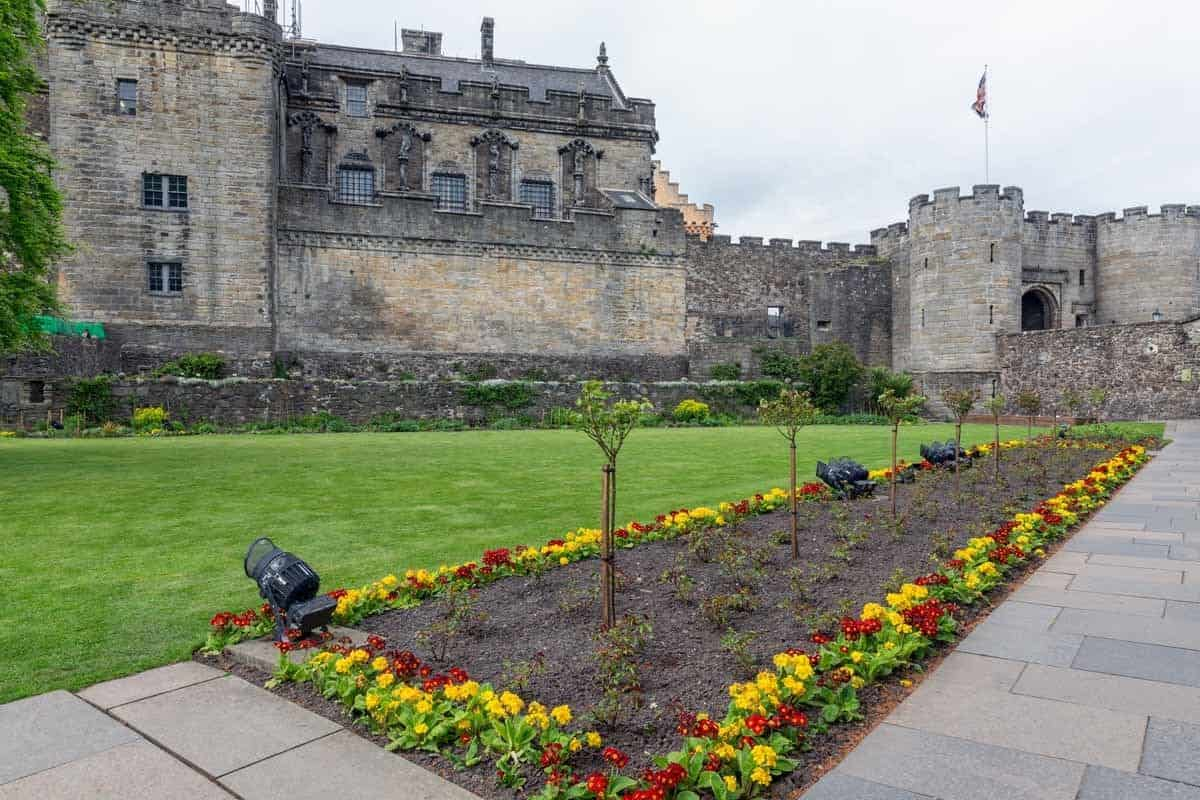 castles in the united kingdom stirling castle scotland