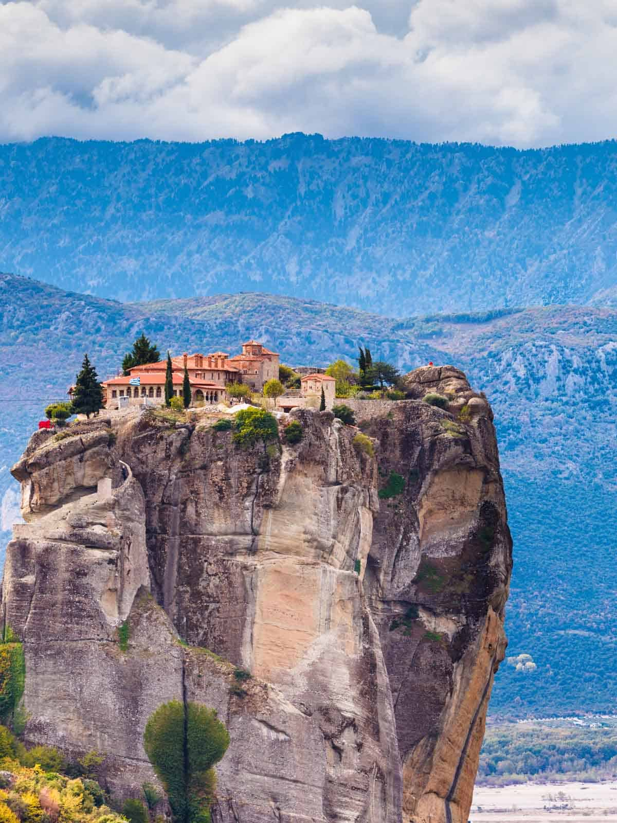 europe bucket list unusual places holy trinity monastery kalambaka greece