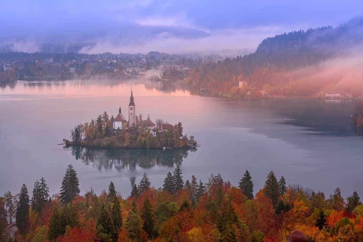 europe bucket list unusual places lake bled slovenia