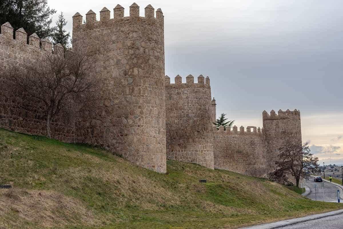 medieval towns in europe avila spain