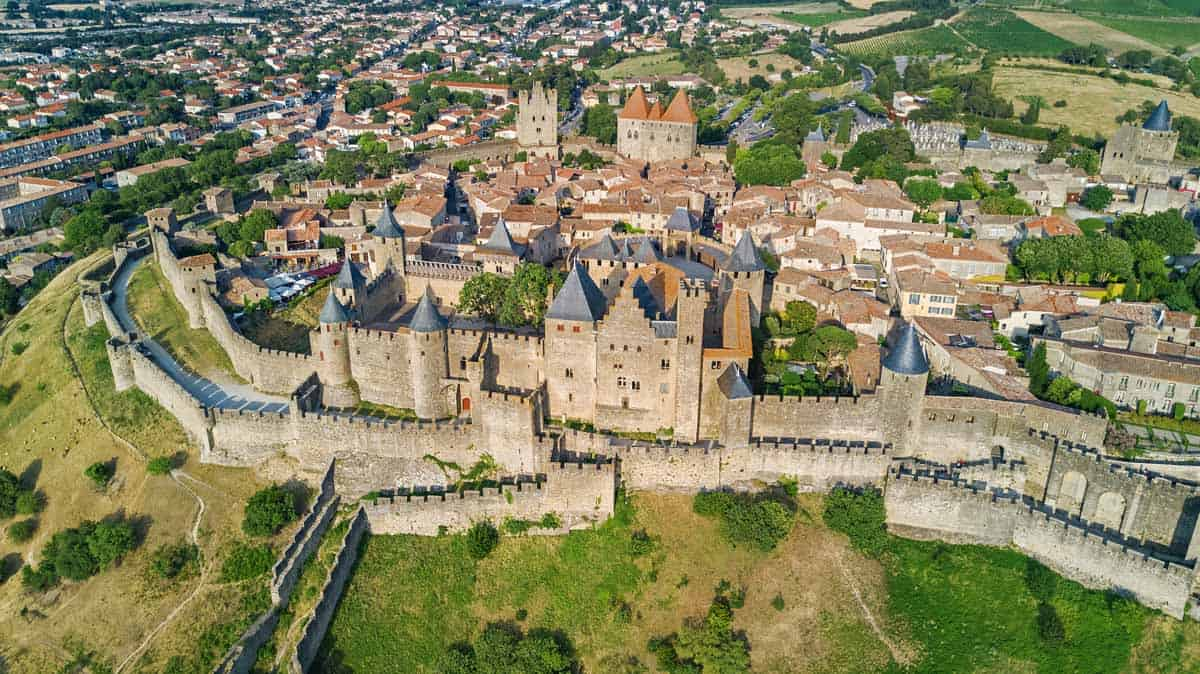medieval towns in europe carcassone france