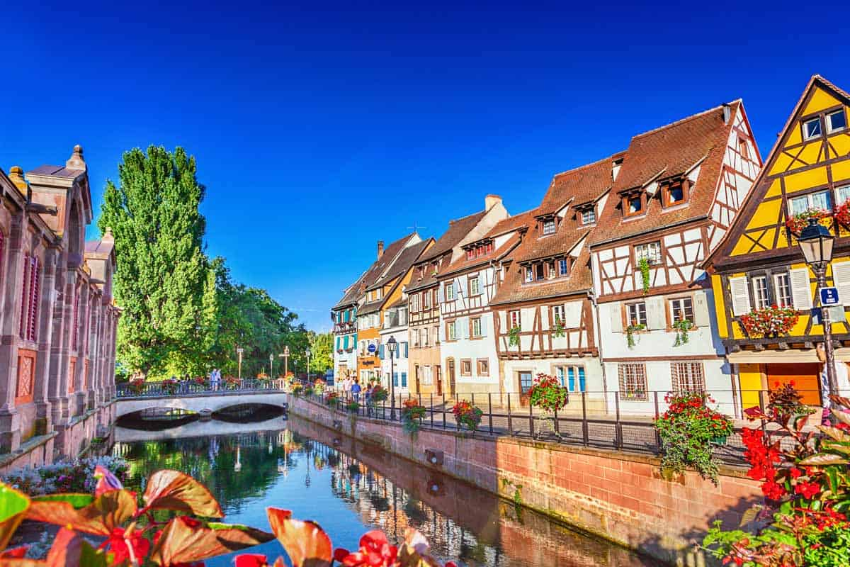 medieval towns in europe colmar france