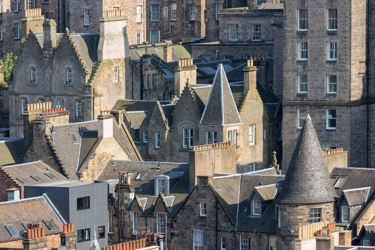 medieval towns in europe edinburgh scotland