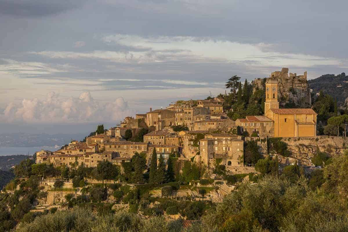 medieval towns in europe eze france
