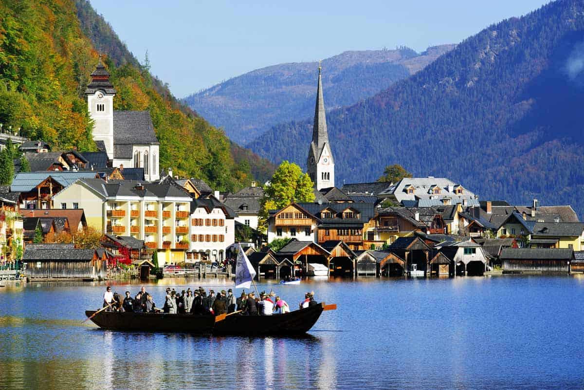 medieval towns in europe hallstatt austria