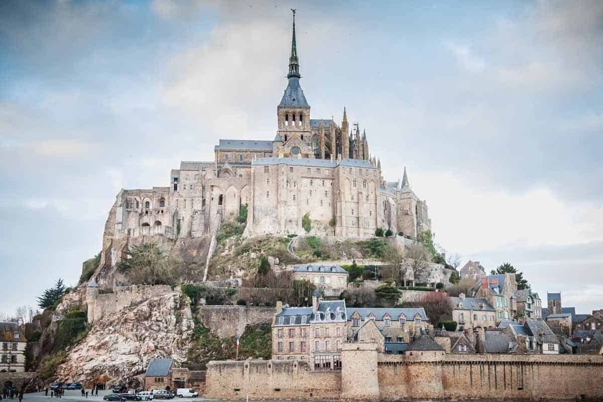 medieval towns in europe mont saint michel france