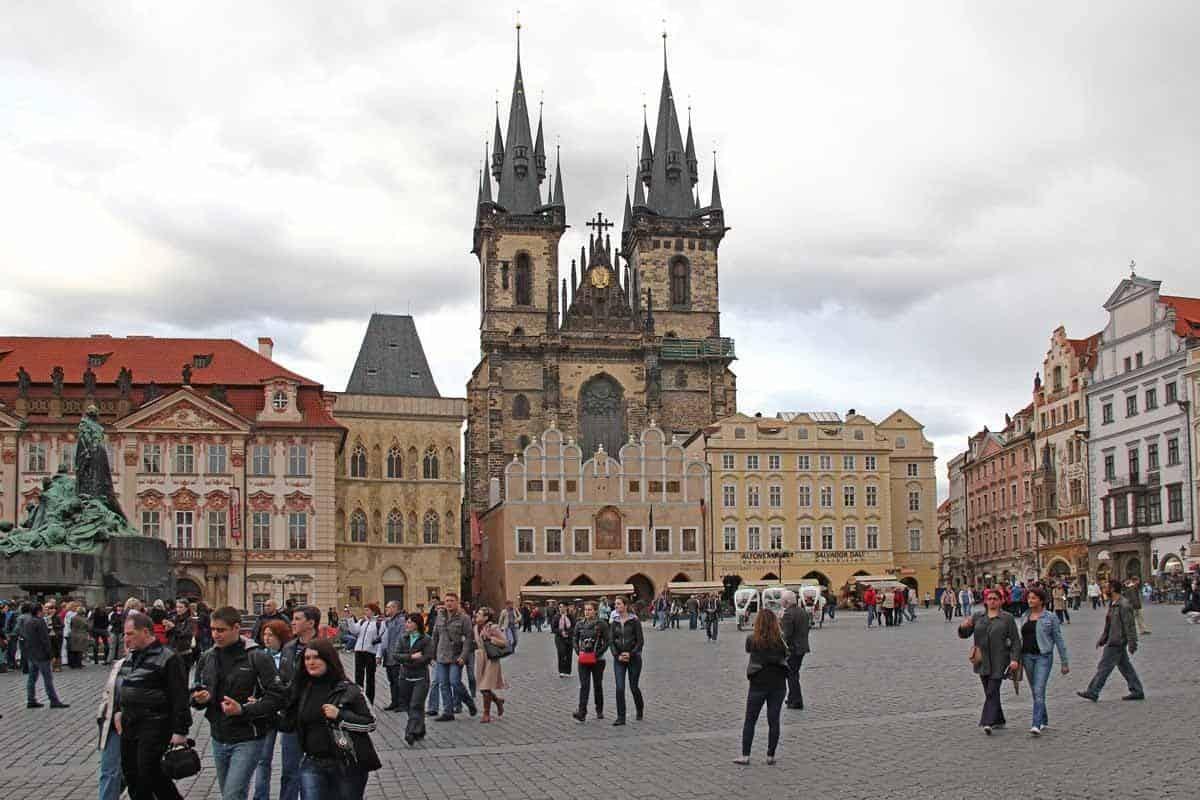 medieval towns in europe prague czech republic