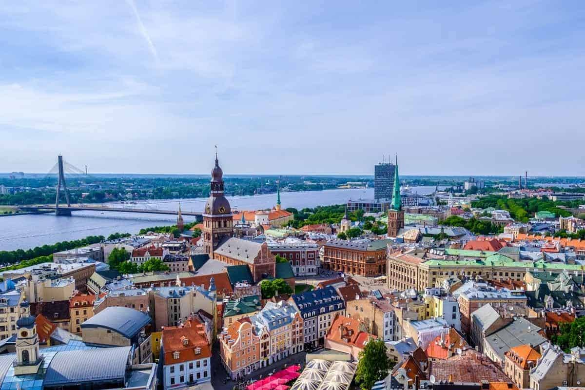medieval towns in europe riga latvia