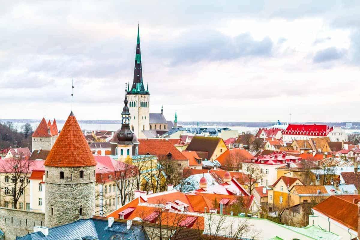 medieval towns in europe tallinn estonia