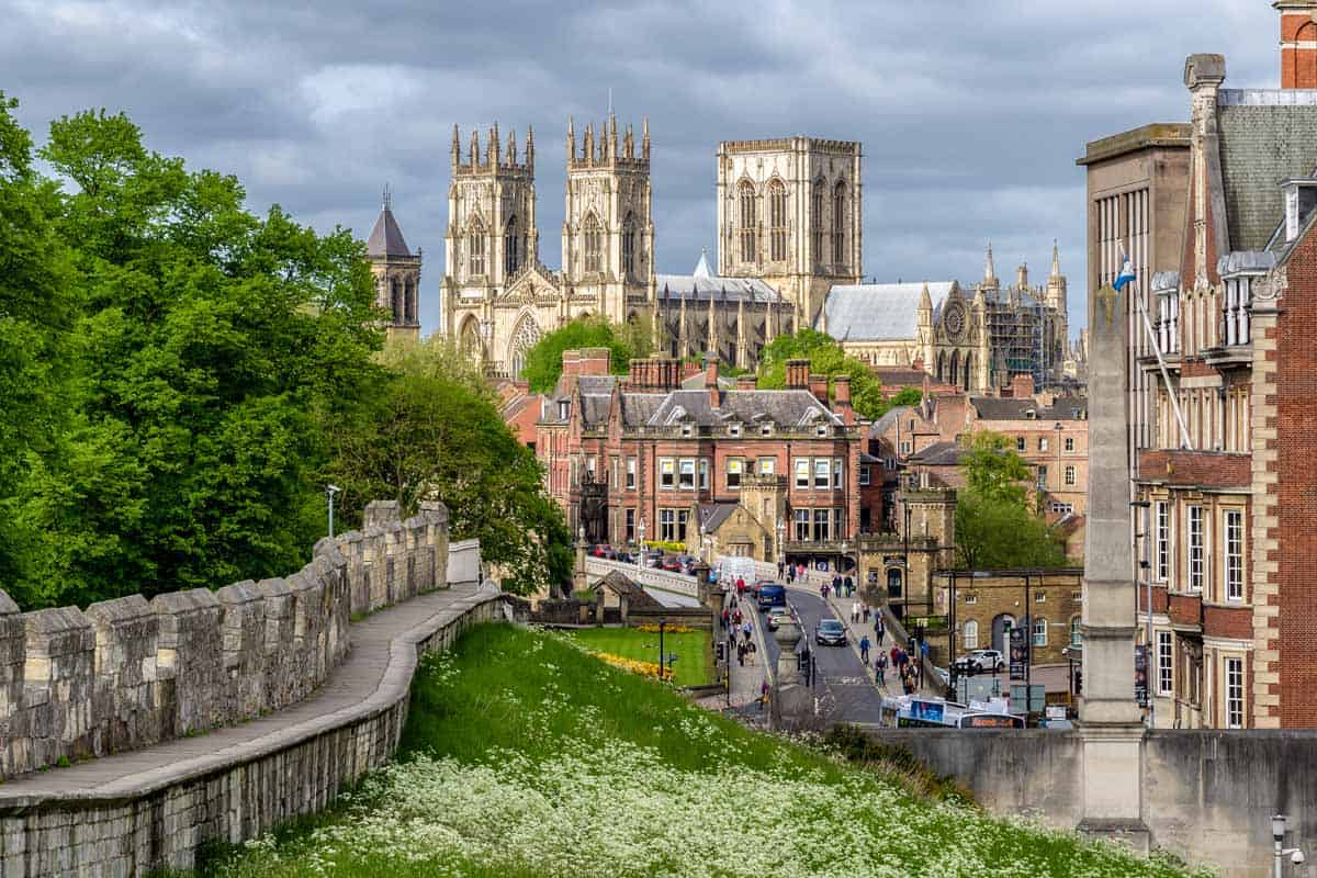 medieval towns in europe york england