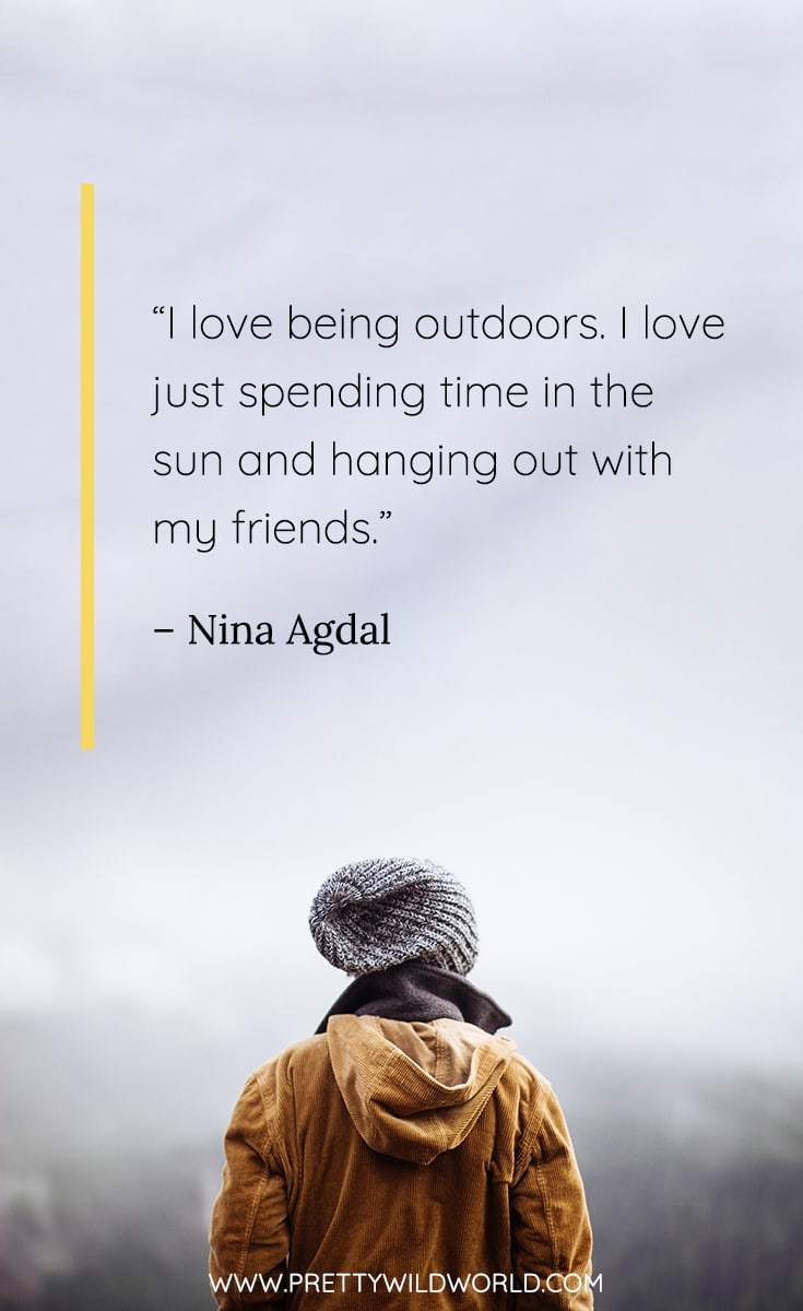 best outdoor quotes | funny outdoor quotes | outdoor quotes nature | outdoor quotes adventure | outdoor quotes country | outdoor quotes inspirational | outdoor quotes funny | outside quotes happy | #outdoorquotes #outdoormotto #quotes