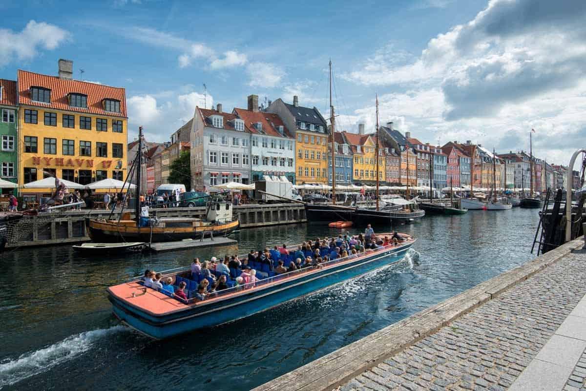 top tourist attractions in copenhagen denmark canal tours