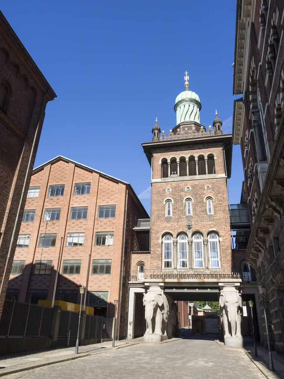 top tourist attractions in copenhagen denmark carlsberg brewery elephant gate