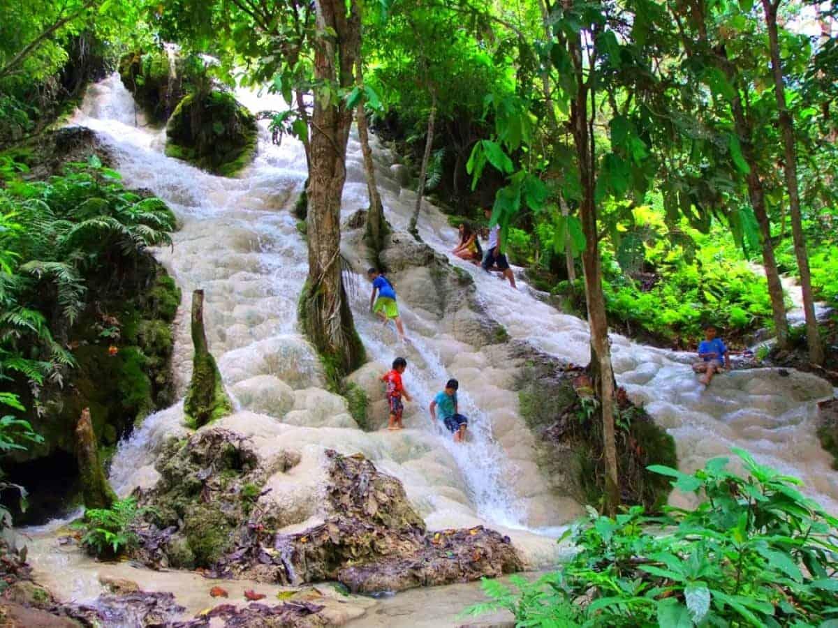 Mai Buatong Waterfall Chiang Ma