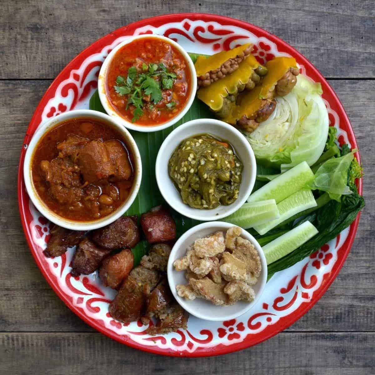 Northern Thailand food Chiang Mai Thailand