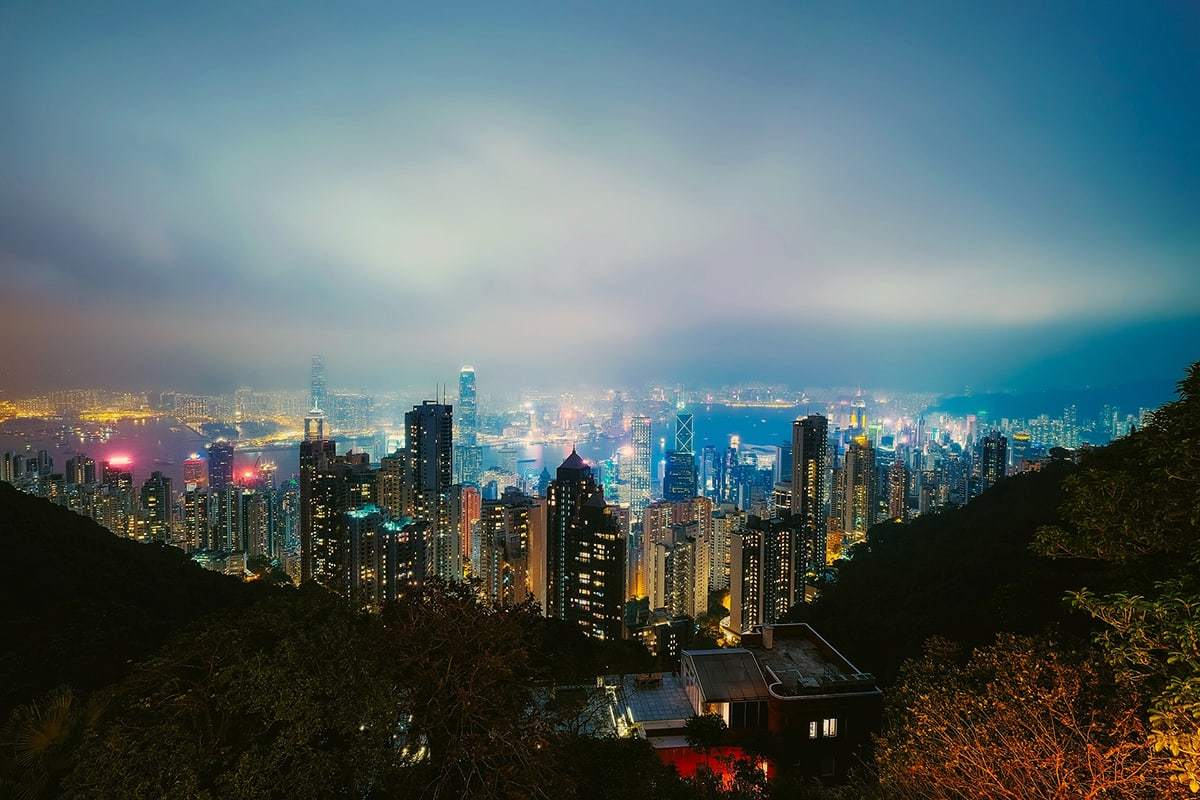 Famous cities in Asia – Hong Kong, China
