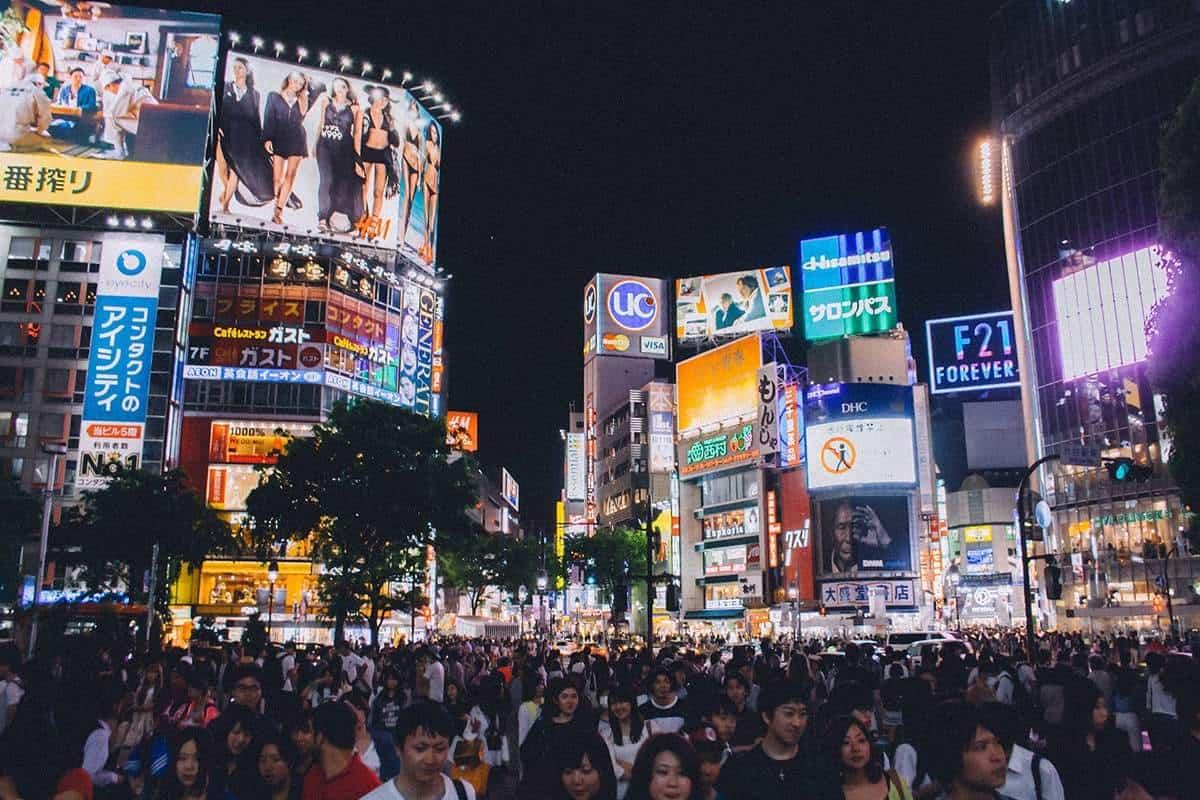 Biggest city in Asia – Tokyo, Japan