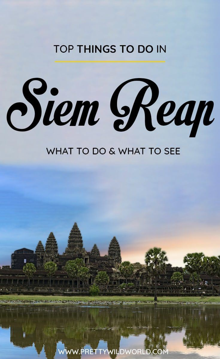 Top Attractions and Things to do in Siem Reap (Cambodia) | Siem Reap attractions, places in Siem Reap, Siem Reap landmarks, what to do in Siem Reap, Siem Reap sightseeing, Siem Reap tourist attractions, places to visit in Siem Reap, activities in Siem Reap, what to see in Siem Reap, things to see in Siem Reap, places to see in Siem Reap, places to go in Siem Reap, Siem Reap points of interest, where to go in Siem Reap, places of interest in Siem Reap #SiemReap #Cambodia #Asia #travel