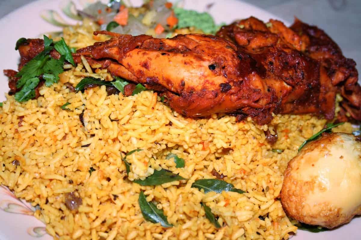 Chicken Biryani Colombo Sri Lanka