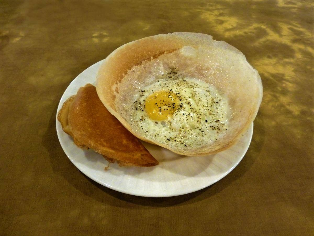 Egg hoppers Colombo Sri Lanka